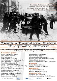 "Zum Artikel ""Conference Report ""History of Right-Wing Terrorism"""""