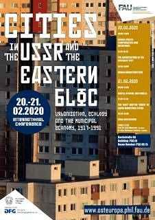 "Zum Artikel ""International conference ""Cities in the USSR and the Eastern Bloc"" (+ photo gallery)"""